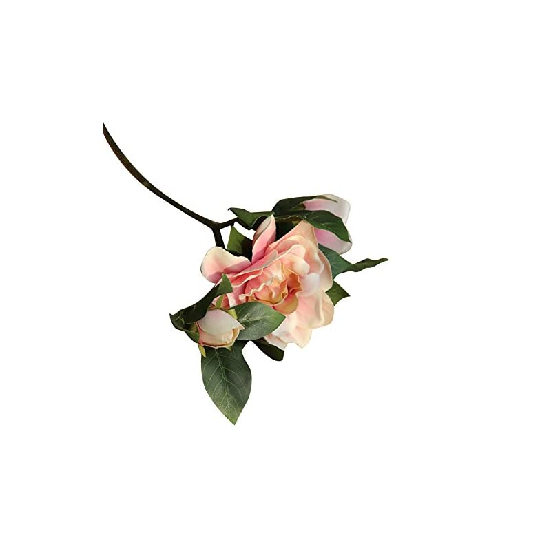 silk flower arrangements milehouse prettdlijun 1pc artificial fake camellia flower   for living room bedroom wedding party home ornaments