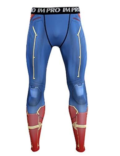 Pantalones de compresión para hombre, varios diseños estampados 4 M