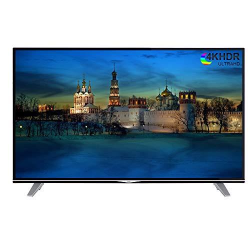 Decdeal Haier Smart TV 4K Ultra HD 55' U55H7000 - Smart UHD HDR LED Wi-Fi TV Nero, 3840 x 2160 Pixels,16: 9, Spina UE