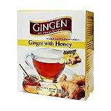 Gingen Bebida natural de jengibre con miel (10 s x 18 g) 180 g - Una bebida refrescante y equilibrante, maravillosa caliente o fría, lista al instante, deliciosa y aromática