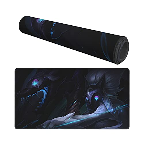 League Mouse Pad Large Gaming Mouse Pads Non-Slip Rubber Table Mat and Keyboard Mat for Pc Computer