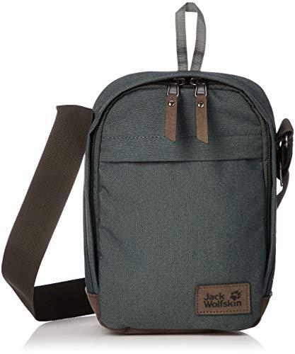 Jack Wolfskin Unisex– Erwachsene Heathrow Freizeittasche, Greenish Grey, One Size