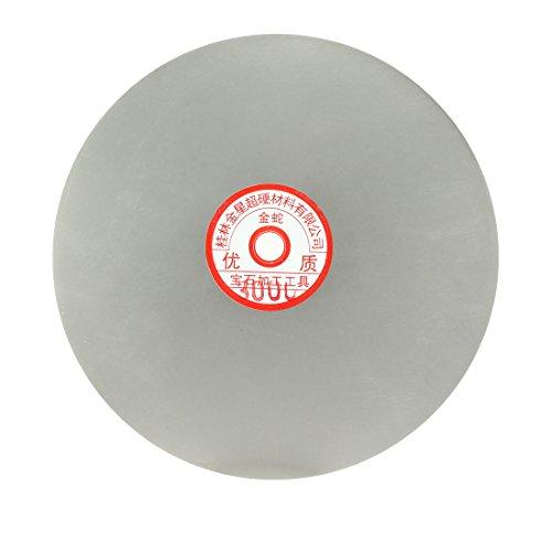 Sourcingmap – Disco de lija de 200 mm con revestimiento de diamante grano 3000