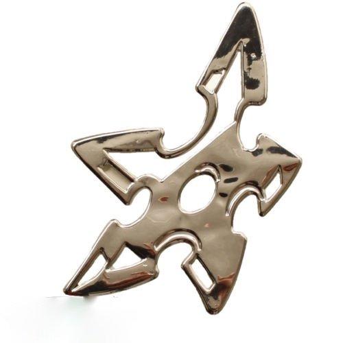 Argenté chromé en 3D emblème étoile de nINJA voiture, moto, dZ - 32S