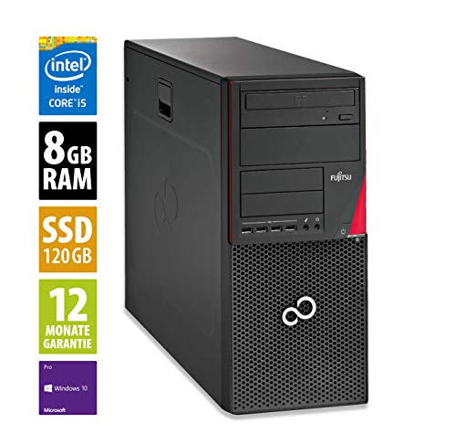 Fujitsu Esprimo P910 MT | Büro Computer/Internet PC | Intel Core i5-3470 , 3,2 GHz | 8GB DDR3 RAM | 120GB SSD | DVD-Brenner | Windows 10 Pro (Generalüberholt)