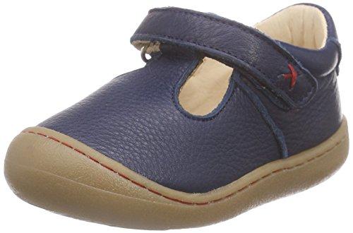 Pololo Unisex-Kinder Pedro Knöchelriemchen, Blau (Tobago 716), 19