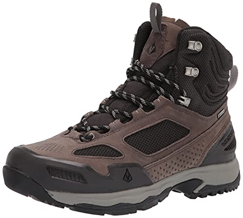 Vasque Men's M Breeze at Mid GTX Goretex Backpacking Boot, Magnet/Drizzle, 8