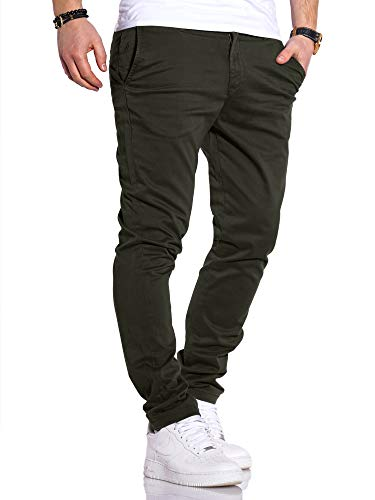 JACK & JONES Herren Chino Hose Chinos Herrenhose JJ Slim Fit (W34 L32, Dark Grey)