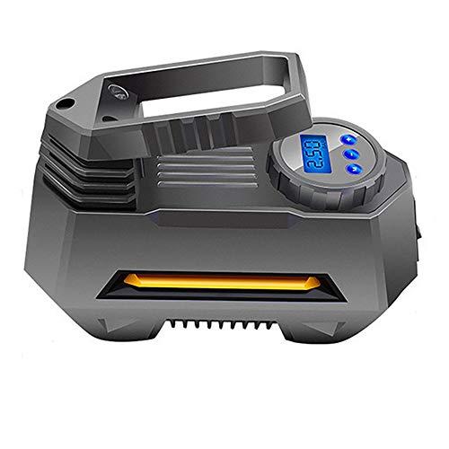 Portátil De Compresor De Aire del Neumático del 150 PSI 12V DC Coche Bomba De Rueda con Manómetro Digital Brillante De La Linterna De Emergencia,Display Style