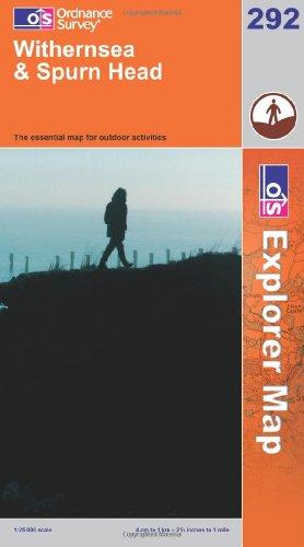 OS Explorer map 292 : Withernsea & Spurn Head