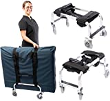 Massage Table Cart Trolley for Professionals
