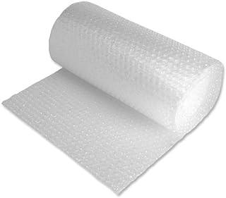 Jiffy Bubble Wrap Roll - Plástico de burbujas (600 mm x 25 m), transparente