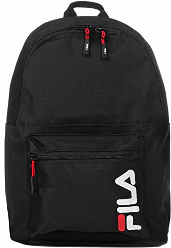 Fila Urban Line Backpack S'cool - Zaini Unisex Adulto, Nero (Black), 15.5x42.5x29 cm (B x H T)