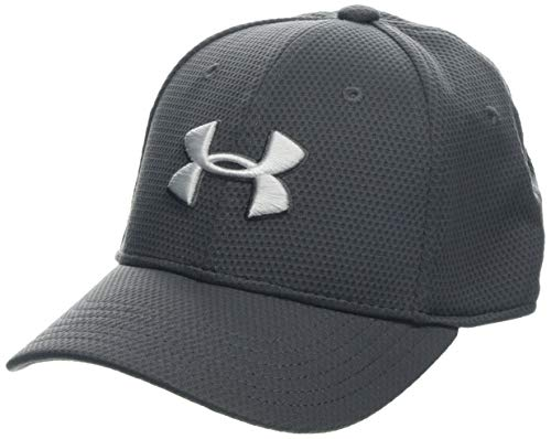 Under Armour Boy's Blitzing 2.0 Gorra, Niños, Gris (Graphite/White 048), S/M