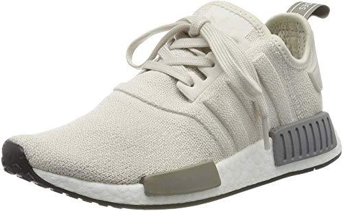 adidas Damen NMD_r1 W Gymnastikschuhe, Weiß Raw White Raw White Core Black Raw White Raw White Core Black, 37 1/3 EU