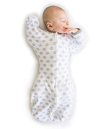 SwaddleDesigns Transitional Swaddle Sack with Arms Up...