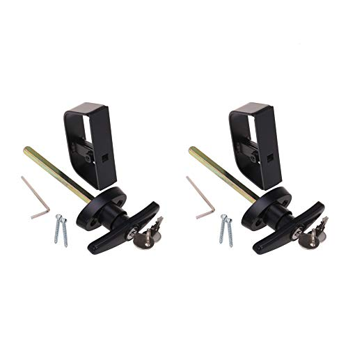 StartFine 2 Kits T-Handle Shed Door Locks 5-1/2