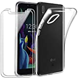 Case for LG K20 2019,clear Soft Silicone Transparent TPU