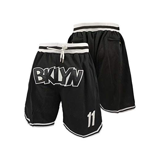 miedation Basketball City Player Fans Gift #11 Men's Quick Dry Loose-Fit Workout Running Mesh Active Shorts with Zipper Pockets Large