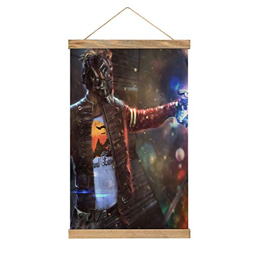 Wall Decor Star Lord 5k Artworks hn Custom Canvas Prints Wall Art for Living Room 13x20 Inch