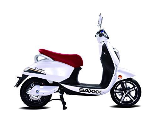 SAXXX E-BEE, Elektroroller 45 km/h, 1200 Watt, Bosch E-Motor, E-Scooter, Elektro-Roller, E-Roller mit Straßenzulassung, herausnehmbarer Lithium-Akku