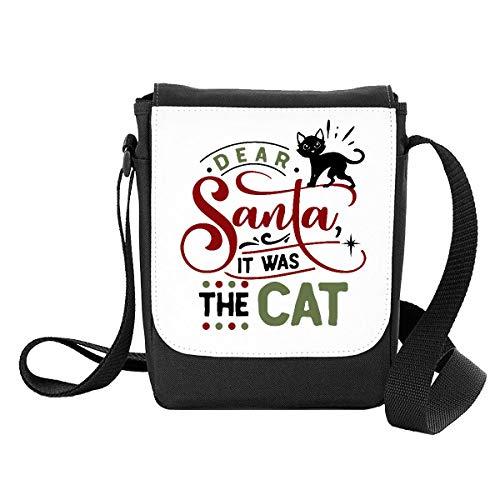Dear Santa, it was The cat [FX20] Shoulder Bag - Small