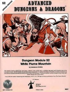 S2 White Plume Mountain - Book  of the Advanced Dungeons and Dragons Module #C4