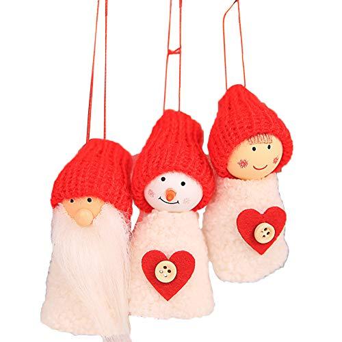 Wicemoon Décoration d'arbre de Noël- Décorations de Noël Décoration Pendentif Arbre de Noël Ornement Suspendu