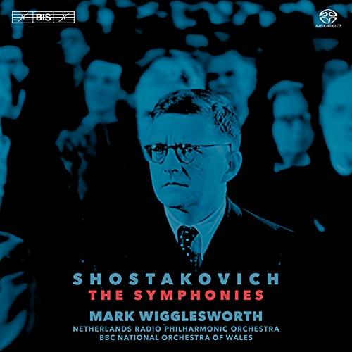 ショスタコーヴィチ : 交響曲全集 / マーク・ウィグレスワース、オランダ放送フィルハーモニー管弦楽団、BBCウェールズ・ナショナル交響楽団 (Shostakovich : The Fifteen Symphonies / Mark Wigglesworth, Netherlands Radio Philharmonic Orchestra, BBC National Orchestra of Wales) [10SACD Hybrid] [Import]