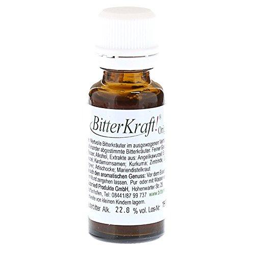 BITTERKRAFT Original in 5 Größen | BIO | Bitterstoffe Tropfen nach Hildegard von Bingen | perfekt für unterwegs | Ausgewogene Kräuter VOR den Mahlzeiten | 20ml | Bittertropfen | für Naschkatzen