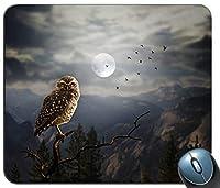 フクロウ2320703マウスパッド滑り止めデスクトップマウスパッドゲーミングマウスパッド