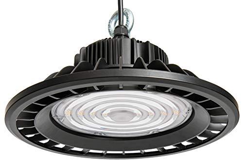 illumitec LED UFO Hallen Strahler 90° ultrahell 150W 19.500 lm sparsam 130 lm/W Tageslicht Weiß 845 4500K SAMSUNG LED IP65 für Innen- und Aussenbereich Industrie Beleuchtung Leuchte High Bay Licht
