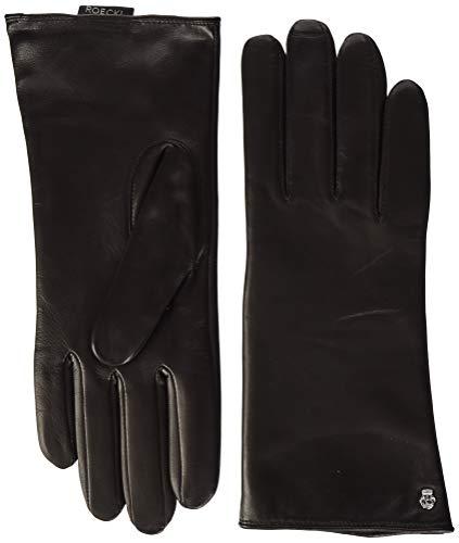 Roeckl Damen Classic Wool Handschuhe, Schwarz (Mocca 790), 7 (Herstellergröße: 7)