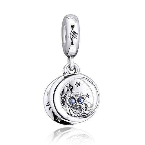 FUNSHOPP 2019 jesień Always by Your Side wisząca koralik srebro próby 925 DIY pasuje do oryginalnych bransoletek Pandora charm modna biżuteria