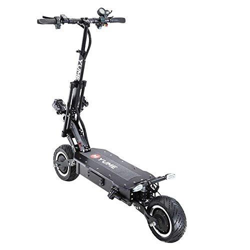 YUME X11 60V 5000W Dual Motor Potente Scooter Elettrico AD Alta velocità per Adulti (60V 26AH)