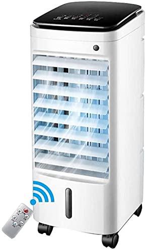 Ventilatore del condizionatore d'aria, ventilatore di aria condizionata mobile raffreddato ad acqua con deumidificatore piccoli refrigeratori evaporativi casa dormitorio