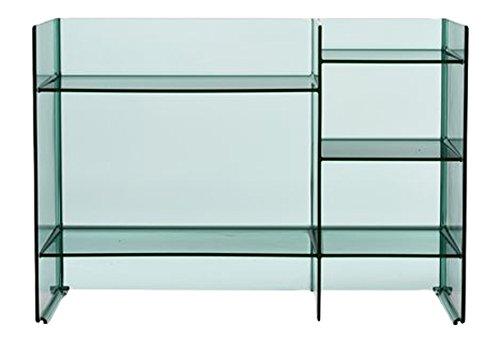Kartell, Sound-Rack, Mobile Contenitore, Verde, 26 x 75 x 53 cm