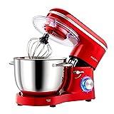 Die besten Küchenmaschines - Aucma Küchenmaschine Knetmaschine 1400W, 6.2L Reduzierte Geräusche Knetmaschine Bewertungen