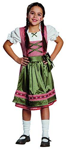 Mottoland Kinder Kostüm Dirndl Clara Oktoberfest Karneval Fasching Größe 164