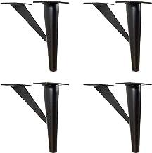 4 stks meubels ondersteuning, bed voeten, sofa voeten, kastvoeten, salontafelbenen, metalen beugels, anti-oxidatie, access...