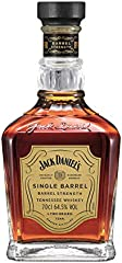 Jack Daniel's Select Single Barrel Barrel Strength Tennessee Whiskey 64,5% - 700 ml in Giftbox