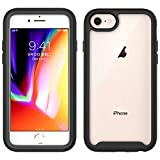 ZELFO 4 Sides Protection Clear Transparent with Black Border Silicon Back Cover Case
