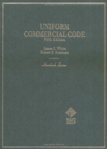 Uniform Commercial Code (Hornbook Series)