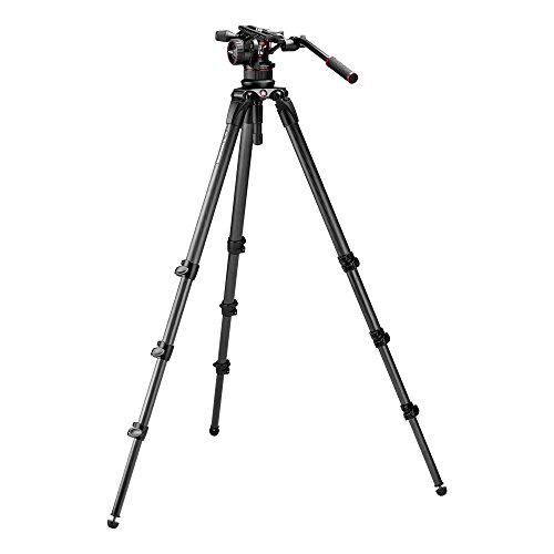 Best Price! Manfrotto Nitrotech N12 & 536 Carbon Fiber Single Legs Tripod System