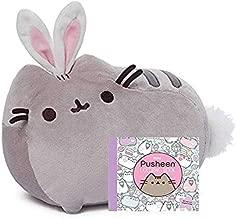 GUND Pusheen Cat as Bunny Rabbit Plush Stuffed Animal Collectible 10
