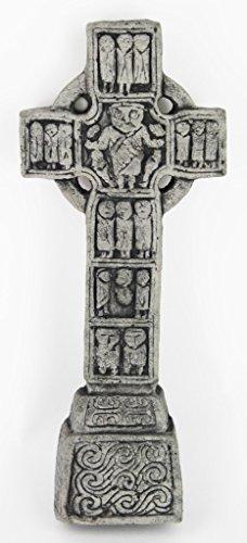Celtic Cross Castledermont Home and Garden Decor Statue Religious Cement Irish Sculpture
