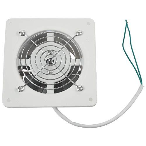 Fransande Ventilador de Extracción de alta velocidad de 4 pulgadas, 20 W, 220 V, pequeños ventiladores de escape, ventilador de cristal de ventana de pared colgante de cuarto de baño de cocina