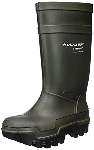 Dunlop Protective Footwear Purofort Thermo+ full safety Unisex-Erwachsene Gummistiefel, Grün 44/45 EU