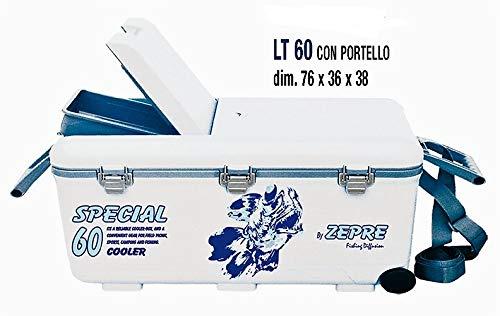 Zepre FRIGO Ghiacciaia Pesca 60 lt. Misure 76x36x38