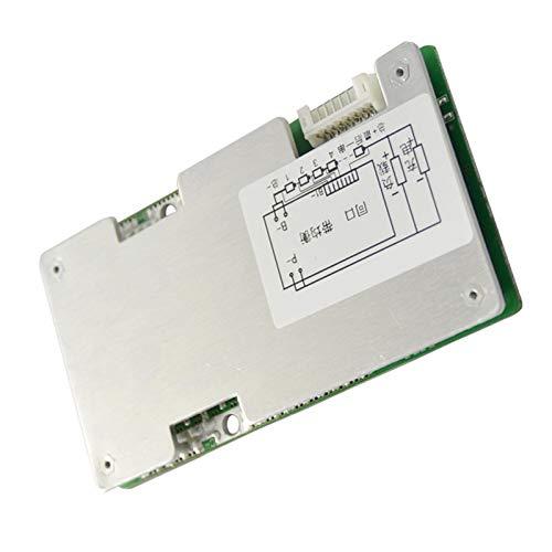 Mogzank 8S 24V 60A BMS Placa de ProteccióN del Cargador de BateríA de Litio de Iones de Litio con Equilibrio de BateríA de Potencia/Placa de ProteccióN de PCB Mejorada
